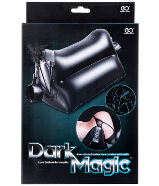 Dark Magic Cushion with Cuffs, Pad & Feather