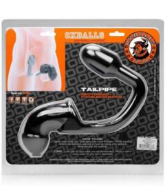 Tailpipe Cock & Ass Lock Black