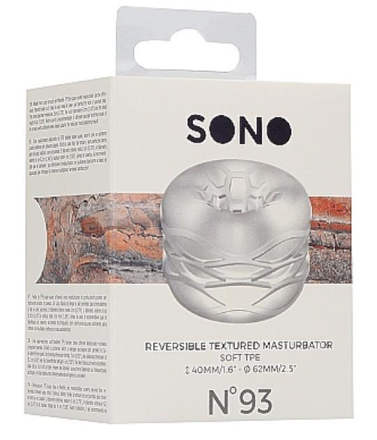 SONO No 93 Reversible Textured Masturbator