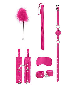 OUCH Beginner Bondage Kit Pink