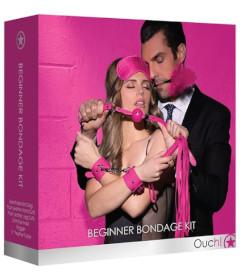 OUCH Beginner Bondage Kit Pink