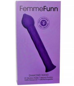 Femme Fun Diamond Wand Purple