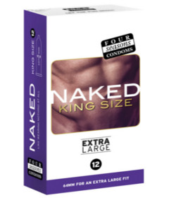 Four Seasons Naked King Size 12pk