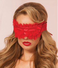 STM 40135 Eyelash Blindfold Red