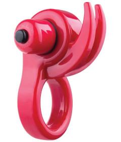 Screaming O Orny Vibe Ring - Red