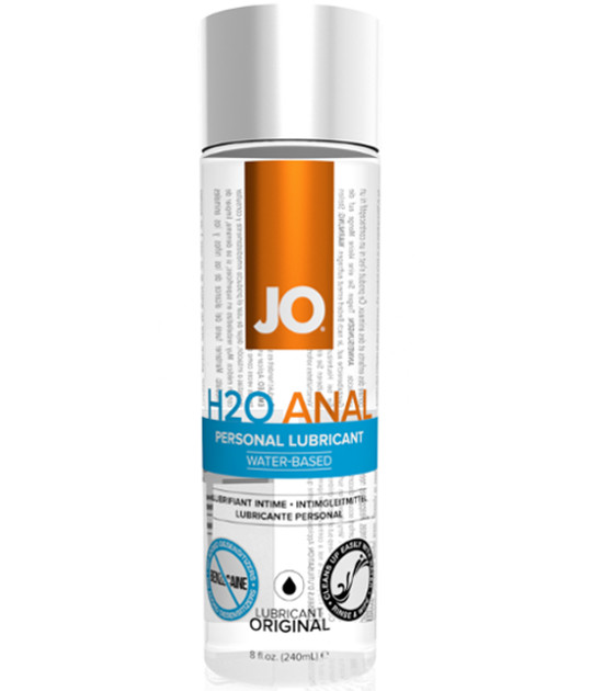 System JO - H2O Anal Lubricant 240ml
