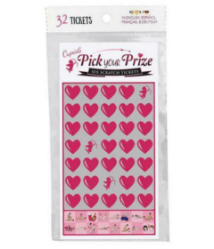 Cupids Pick A Prize Scratch Tickets 32pk