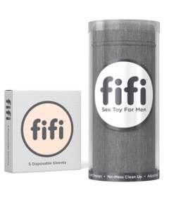 Fifi Grey with 5 Sleeves