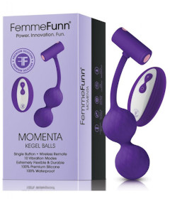 Momenta Kegel Balls Purple