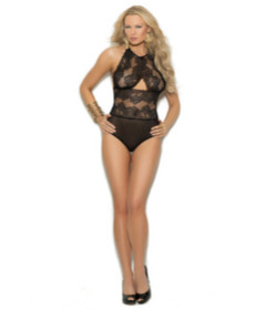 EM Halter Neck Lace Teddy Small