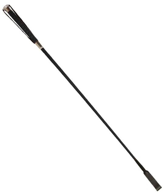 CRO022BLK - Black Crop with Metal Ferrul