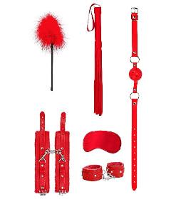 OUCH Beginner Bondage Kit Red