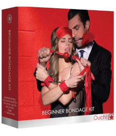 OUCH Beginner Bondage Kit Red