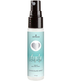 Deeply Love You Throat Spray Choc Mint