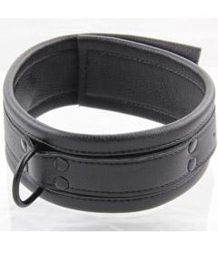 COL046 Soft Padded Black Collar