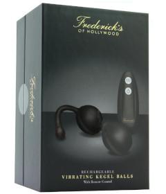 Fredericks Remote Vibrating Kegel Black