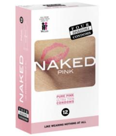Four Seasons Naked Pure Pink 12pk