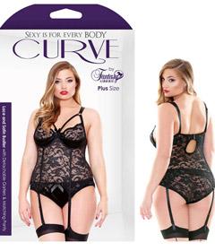 Curve P172 Lace Bustier Set 3x4x