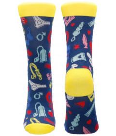 Sexy Socks Kinky Minky Size 42-46