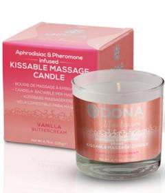 Dona Kissable Massage Candle Vanilla Butter