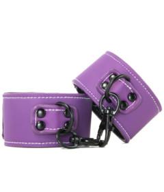 LUST Bondage Wrist Cuffs Purple