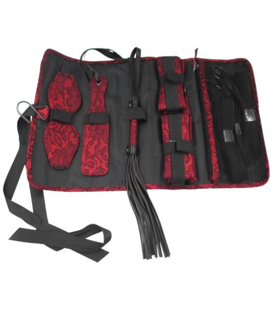 Boudoir Bondage Bag By Brigitta - Red