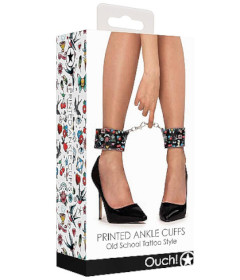 Ouch - Printed Ankle Cuffs