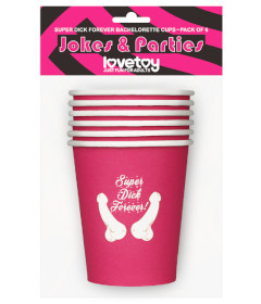 Lovetoy Paper Cups 6pk