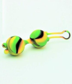 Camo Lana Kegel Ball Yellow