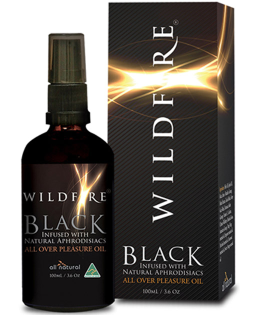 Wildfire - Pleasure Oil Black 100ml