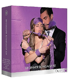 OUCH Beginner Bondage Kit Purple