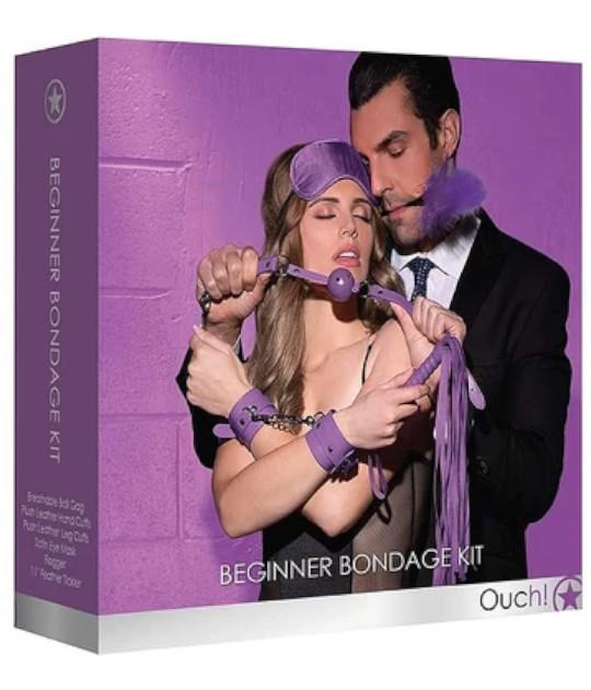 OUCH Beginner Bondage Kit Purple