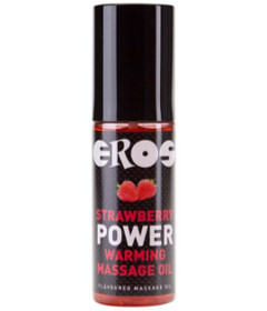 EROS Strawberry Warming Massage 100ml
