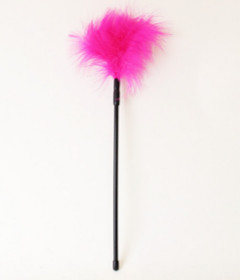 Fluffy Tickler Pink