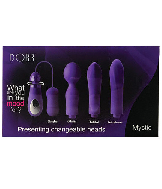Dorr Mystic Switchable Head Vibe Set Purple