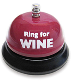 Ring For A Wine Table Bell