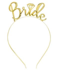 HEN001GLD Bride Tiara Gold