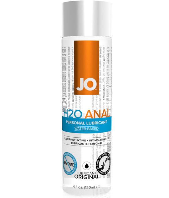 System JO - H2O Anal Lubricant 120ml
