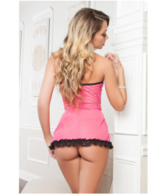 D1705 - Flirt Babydoll Strawberry
