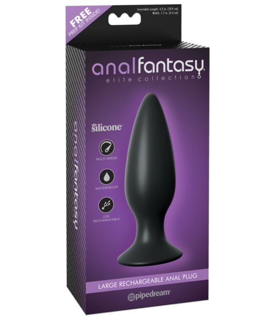Anal Fantasy Elite Large Recharge Plug