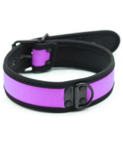 COL050PUR Neoprene Collar Purple