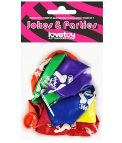 Lovetoy Pecker Balloons 7pk