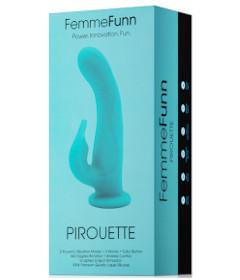 Femme Fun Pirouette Turquoise