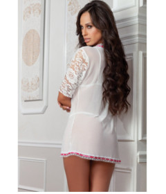 D1810 - 3pc Robe Set White