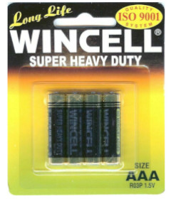 Wincell AAA Super Heavy Duty 4pk
