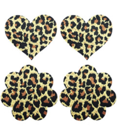 Leopard Sexy Nipple Pasties 2 Pack