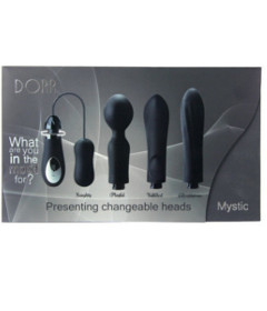 Dorr Mystic Switchable Head Vibe Set Black