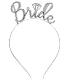 HEN001SLV Bride Tiara Silver