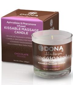 Dona Kissable Massage Candle Choc Mouse