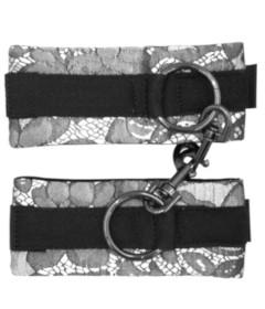 Universal Lace Cuffs Silver By Brigitta